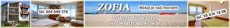 Pokoje Gościnne Zofia we Władysławowie